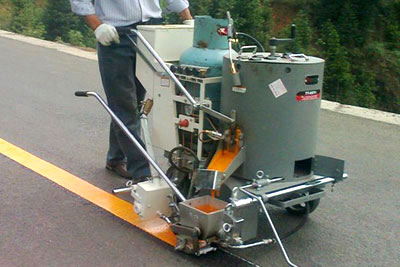 DY-HPT thermoplastic road marking machine