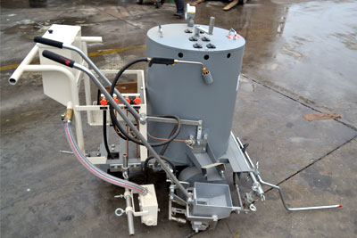 DY-MT thermoplastic road marking machine
