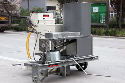 DY-SSTC two-component paint road marking machine