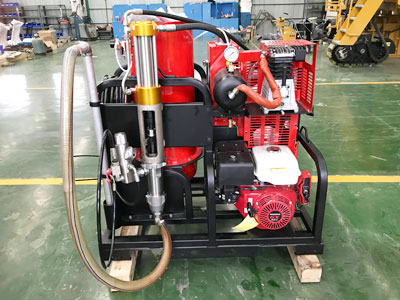 DY-TMAL cold paint road marking machine